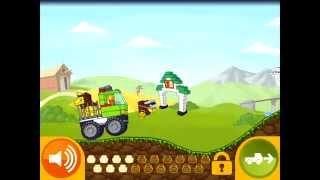 Lego Juniors! Лего Игры! ВЕЗЕМ ЛЬВА В ЗООПАРК! Серия 16! Лего для МАЛЬЧИКОВ И ДЕВОЧЕК!