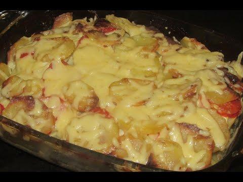 Запеканка с куриной грудкой и овощами/Рецепт ПП