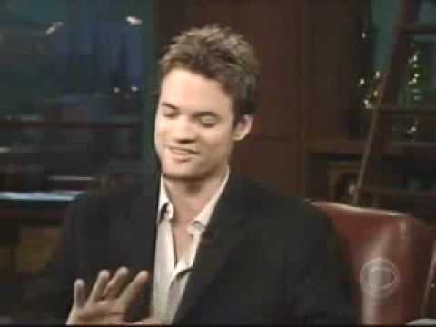 Shane West on the Late Late  2004