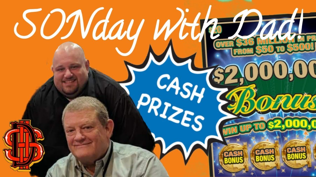 SONday with Dad! $ WIN FREE MONEY $ Detroit Scratchers $ Giveaways!