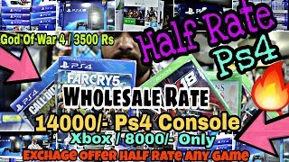 WHolesale / ps4 console // xbox one s // Ps3 // xbox // Wholesale Half Rate :)