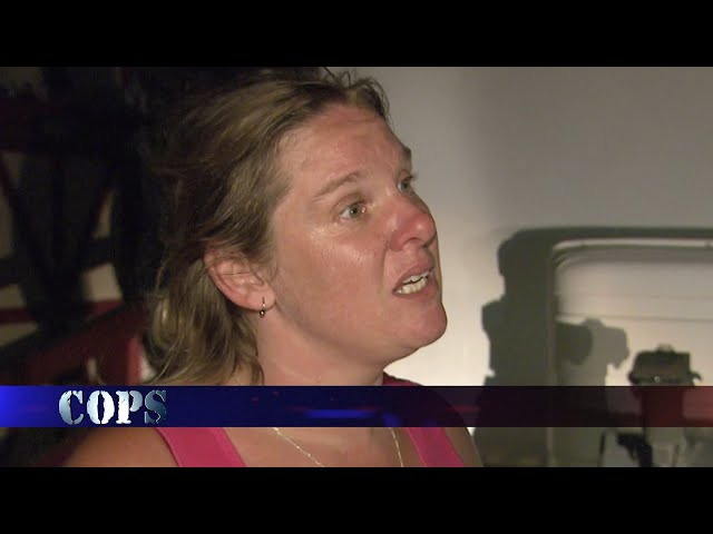Don't Piss Her Off, Nye County Sheriff's Office, COPS TV SHOW