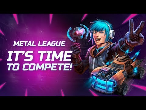 METAL LEAGUE! New Season starts on August 10th! All levels can join!