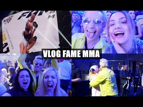 FAME MMA Z EKIPĄ LIL MASTI || vlog + backstage