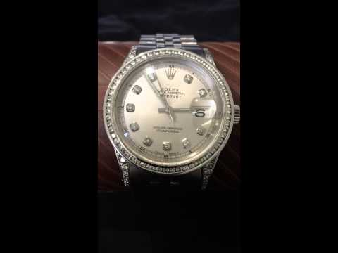 Rolex 1967 Datejust 1601 for sale on ebay