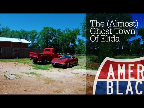 Ghosts - Abandoned (Almost) Ghost Town of Elida in New Mexico