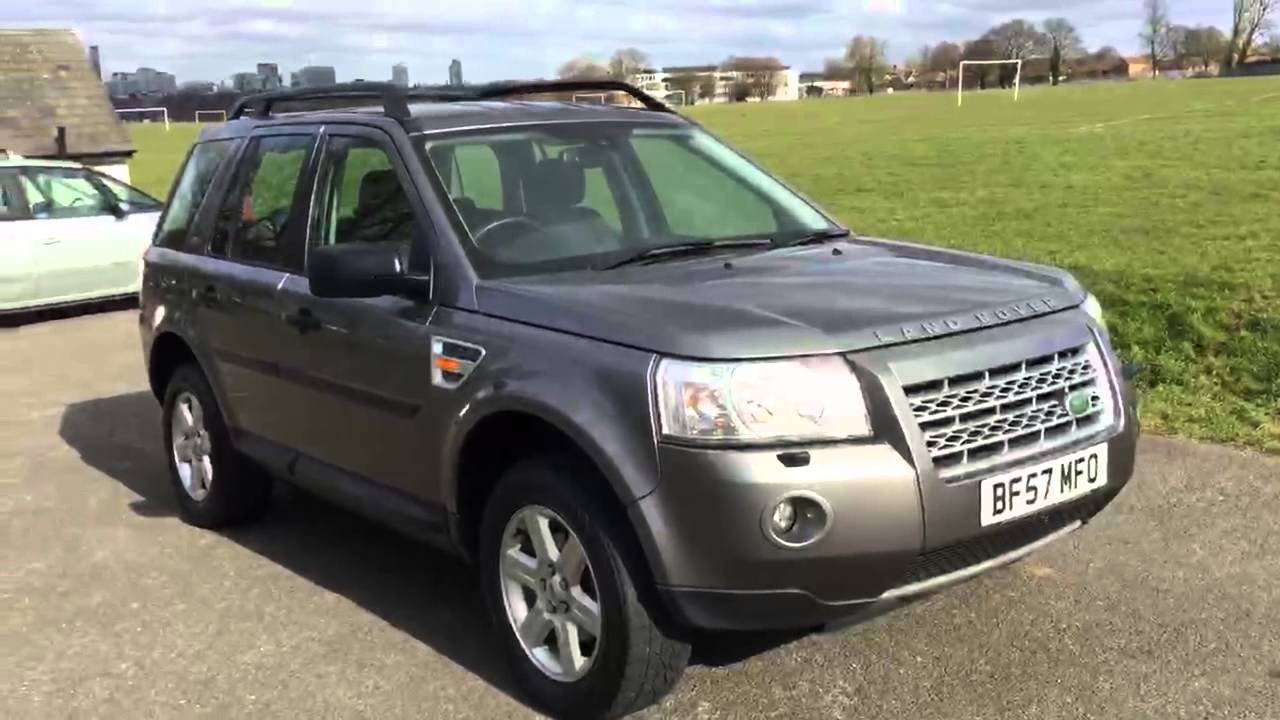 grey land rover freelander 2 2 2 td4 turbo diesel gs 4x4. Black Bedroom Furniture Sets. Home Design Ideas
