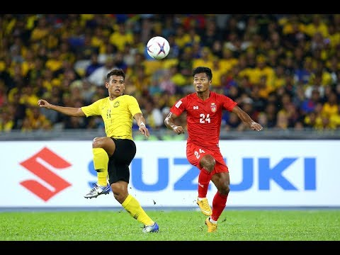 Malaysia 3-0 Myanmar (AFF Suzuki Cup 2018: Group Stage Full Match)