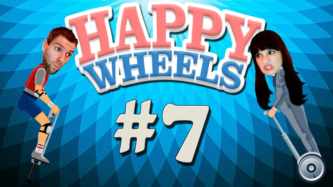 Happy wheels 7 more bowlingotter levels the - Let s play happy wheels ...