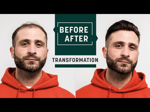 men's-short-hair-cut-for-summer-|-on-trend-hairstyle-2020-with-a-hairsystem-|-hairsystems-heydecke