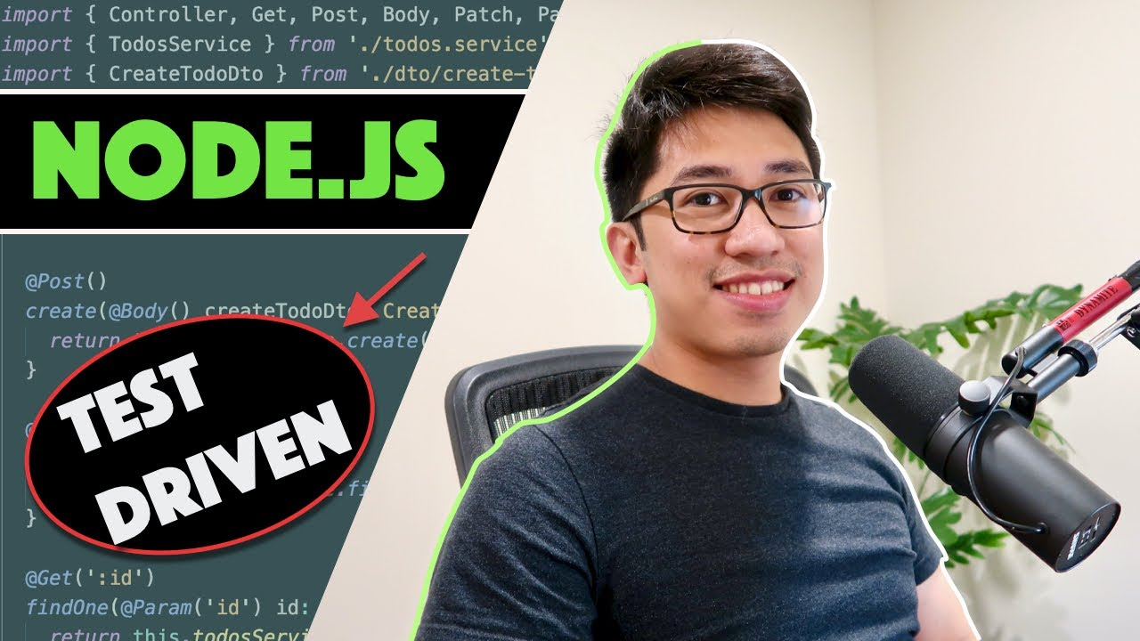 NodeJS Express Test-Driven API Development (TDD)