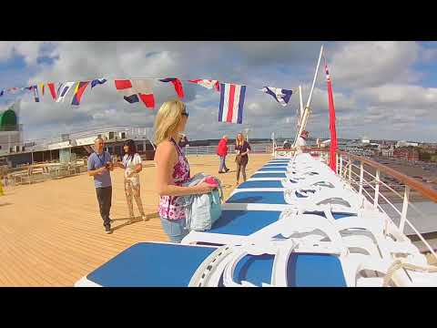 P&O Arcadia - Tour of the ship - Southampton - August 2017