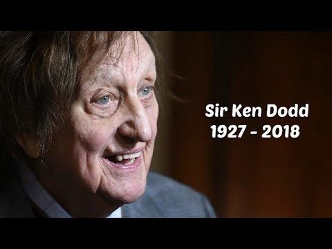 Sir Ken Dodd LAST TV HD Video & Interview Alex Belfield Blackpool - RIP Died March 11th 2018