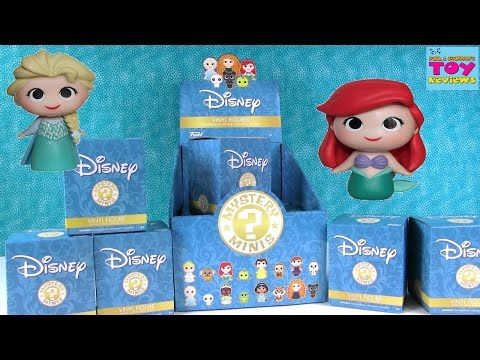 Disney Princess Funko Mystery Minis Full Case Unboxing | Toy Review | PSToyReviews