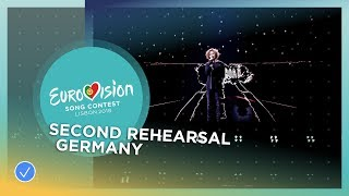 Michael Schulte - You Let Me Walk Alone - Exclusive Rehearsal Clip - Germany - Eurovision 2018