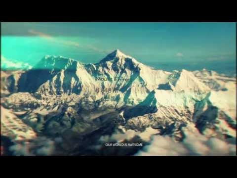 15 world tallest mountains HD