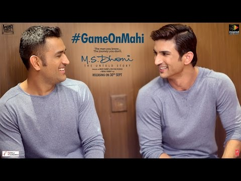 M.S.Dhoni - The Untold Story | Feat M.S & Sushant Singh Rajput | Game on Mahi