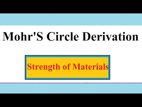 Mohr's Circle Maximum Shear Stress & Principal Stresses SOM Tutorial- 7