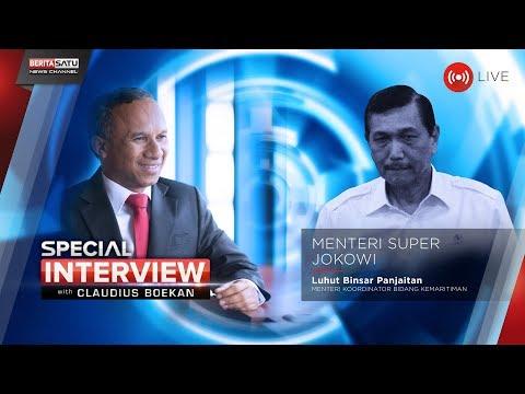 Special Interview with Claudius Boekan: Menteri Super Jokowi