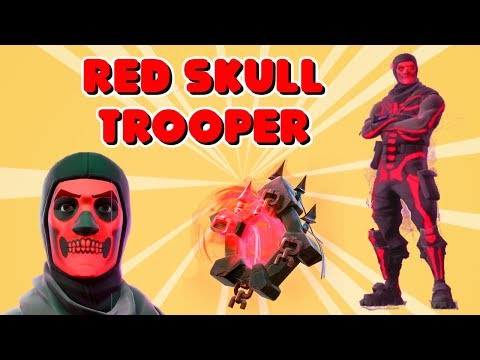NEW RED SKULL TROOPER AND RED GHOST PORTAL IN FORTNITE