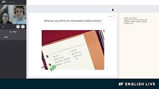 온라인 영어회화 1:1 수업 샘플 동영상 - EF En…