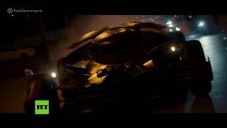 Für mehr als 800.000 Dollar soll eine Kopie des Batmobils (Batman-Film) in Moskau verkauft werden...