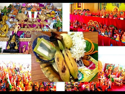 Navarathri Pooja guide |Saraswathi pooja, Ayutha pooja , Vijayadasami celebration steps kolu