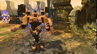 Warhammer 40,000: Dawn of War II : Retribution - Last Stand Tau Commander trailer