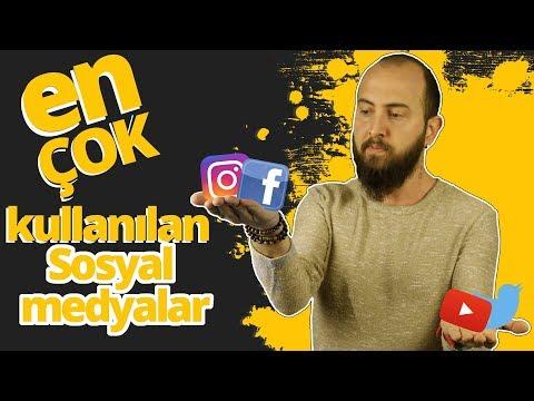 En çok Kullanılan Sosyal Medya Platformları Karşınızda!