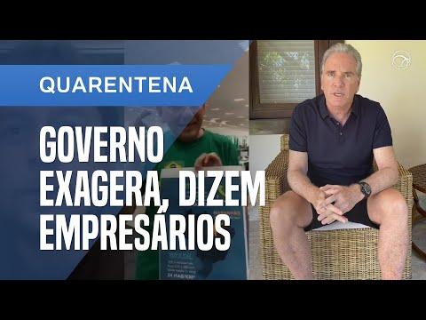 EMPRESÁRIOS CRITICAM MEDIDAS DO GOVERNO E TEMEM COLAPSO DA ECONOMIA
