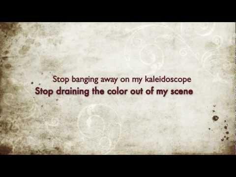 Blink-182 - Kaleidoscope (lyrics on screen)