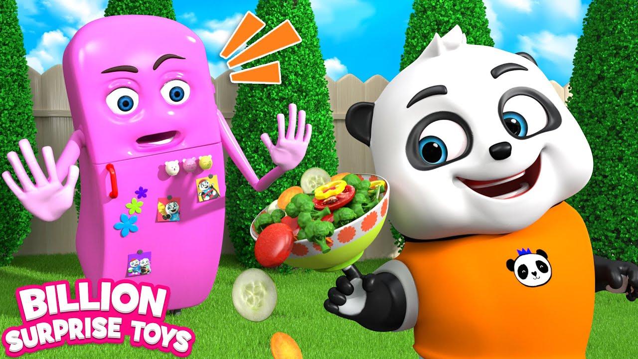 أغنية التبريد مع الباندا | أغاني للغناء معًا للأطفال