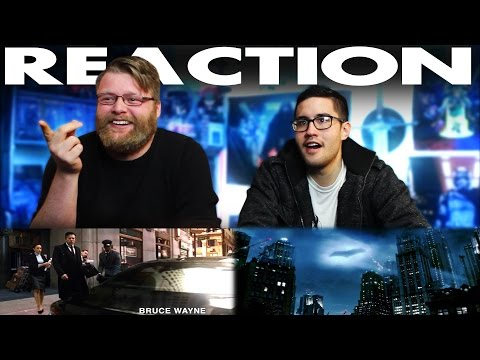 Fly to Gotham BvS Super Bowl REACTION!!