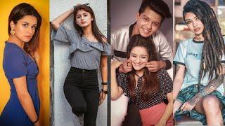 Kal Raat Online Mili Ek Ladki || New Trending TikTok Musically Videos || Riyaz & Avneet Kaur TikTok