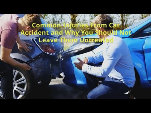 Common Car Accident Injuries Treat By Your Charlotte  Chiropractor
