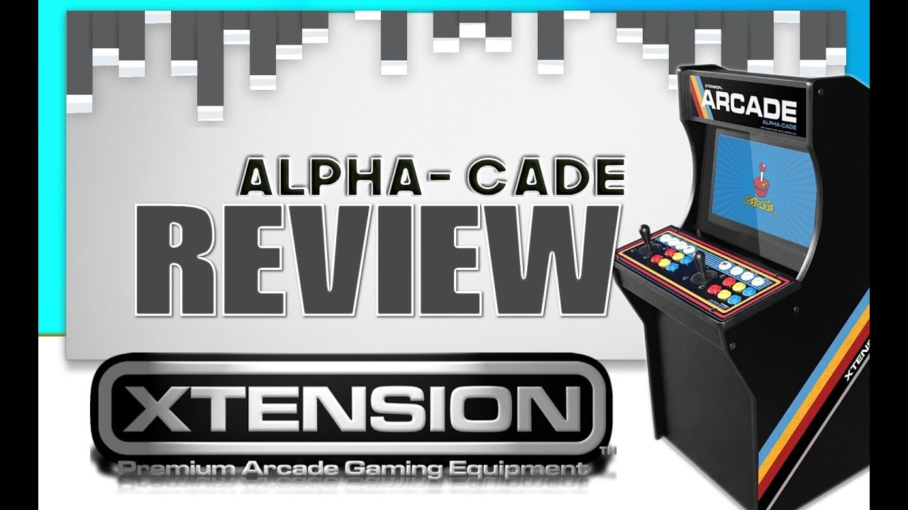 RecRoomMasters Xtension Alpha-Cade 3/4 Scale Review
