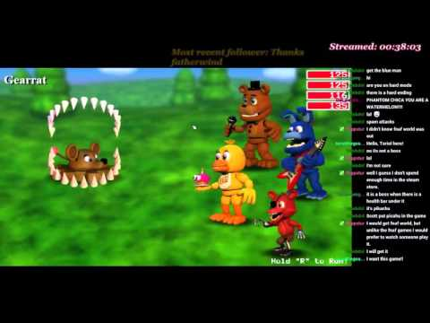 FNAF World- inspired by Razzbowski and DJ Sterf p1