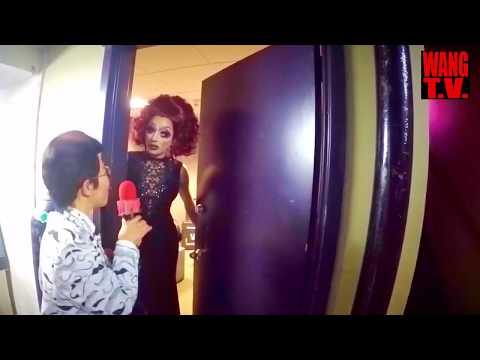 """Drag Queen Bianca del Rio&39;s """"Not Today Satan"""" Tour started with Drag King Wang Newton"""
