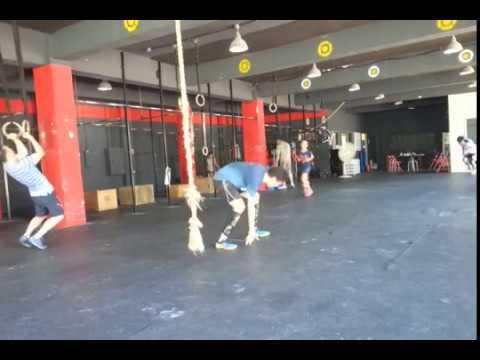 "CrossFit ILC Training Log - Hero WOD ""Dunn"""