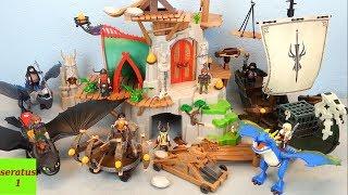 Playmobil Dragons 9243 alle Sets komplett eingerichtet seratus1
