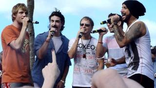 KEVIN SINGS BACKSTREET BOYS CRUISE 2011
