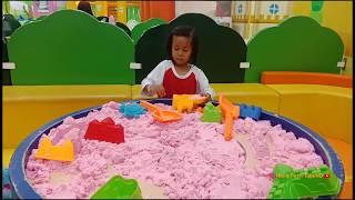 Bermain Di Kidzoona indoor playground Mall Seru banget!!!
