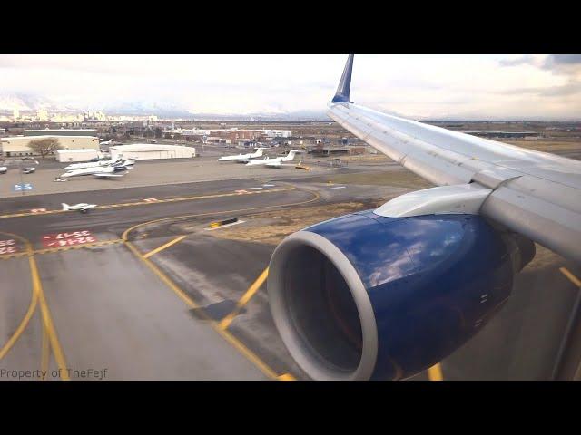 [FLIGHT LANDING] Delta 757-300 - Cold Landing into Salt Lake City International Airport