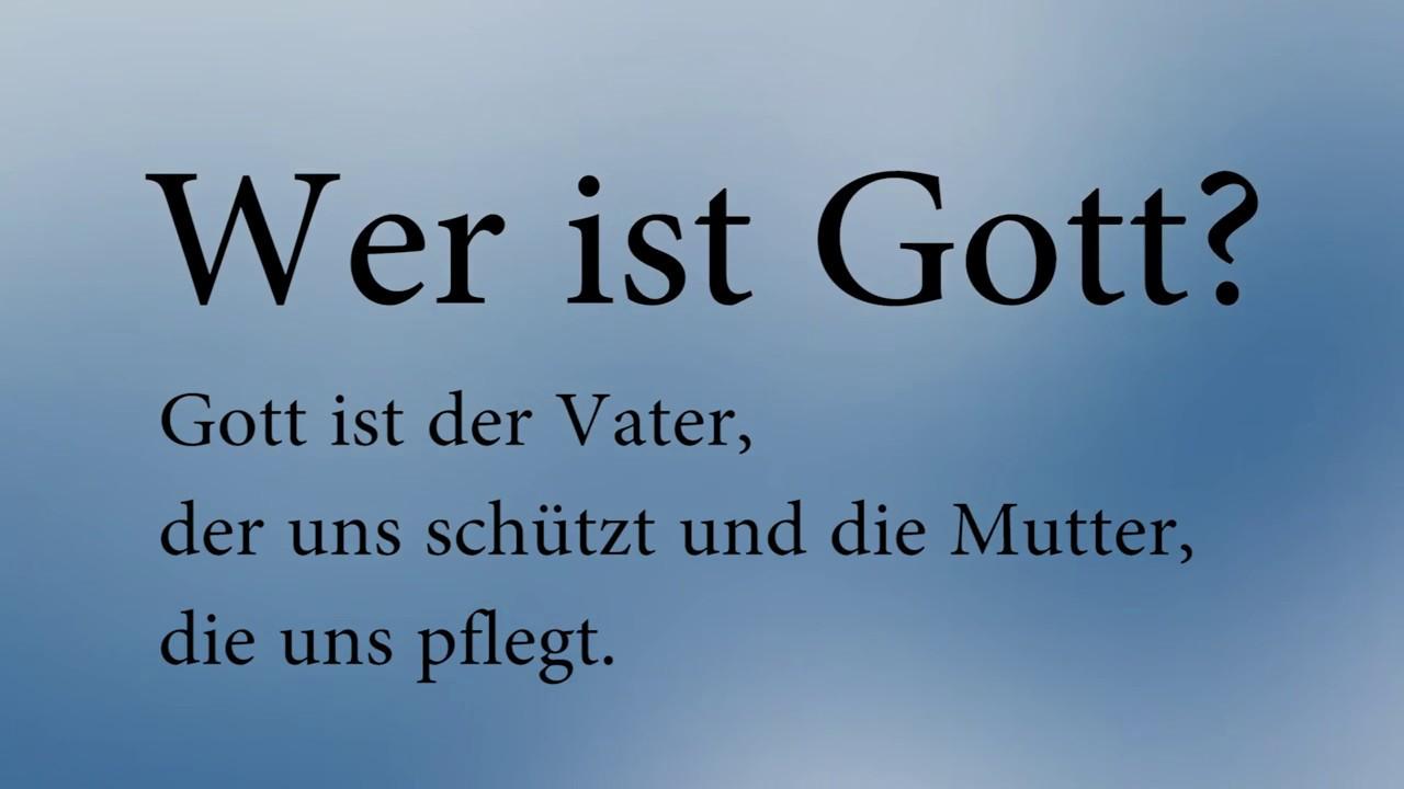 Wer Ist Gott