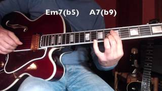 Stella by starlight - (Victor Young) - Jazz Guitar - Chord melody