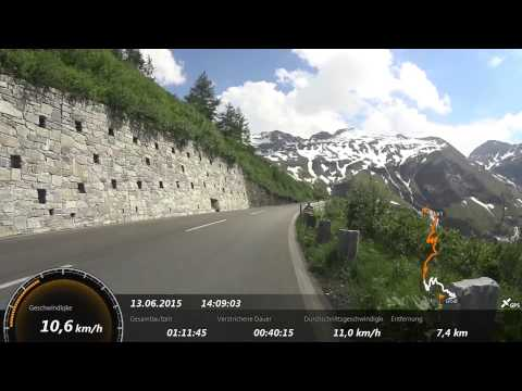 Virtual Bike Tour Großglockner