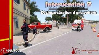 DESINCARCERATION D'UNE VOITURE ! | Agorapolis Pompier | Arma 3 Altis Life