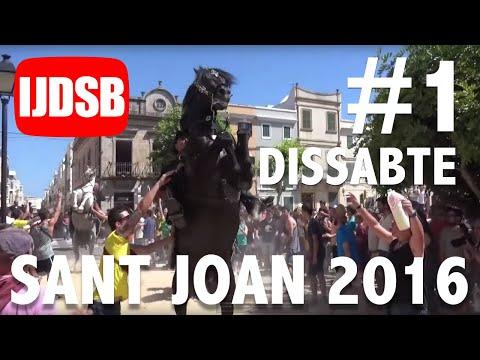 Sant Joan 2016 Dissabte: Primer toc, replec i bandera