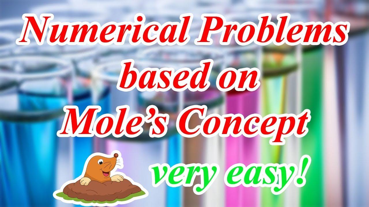 Numerical Problems - Chemistry | Mole Concept | ICSE Class 10