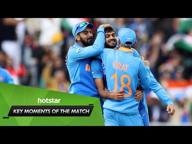 Key moments of the match feat. Rohit's missed run-out
